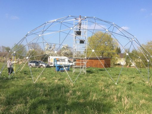 18m Large Geodesic Dome