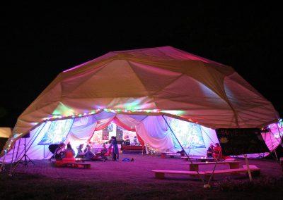 Festival dome music venue