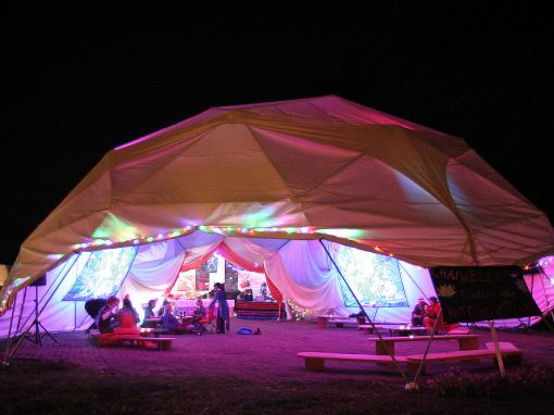 Geodesic Festival Event Domes