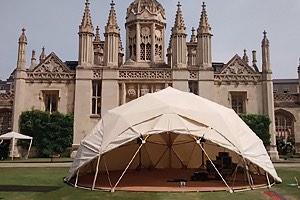 Geodesic Dome Cambridge University KA